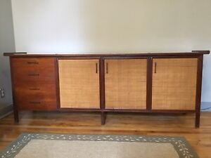 Teak Buffet, Coffee Table & End Tables
