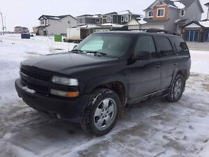 2003 Black Chevrolet Tahoe Z71