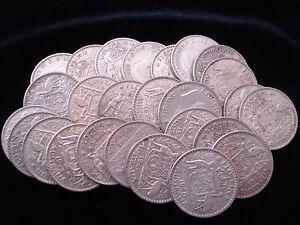 Australian Predecimal Sterling Silver Florin Bulk Coins 10pc