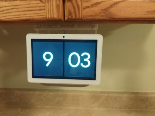 Google Nest Home Hub Max Kitchen Cabinet Mount