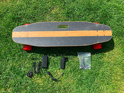 ELECTRIC SKATEBOARD 2x350W DUAL BRUSHLESS HUB MOTORS BY BENCH WHEEL. UK
