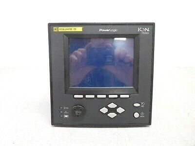 Mo-3715 Schneider Ion7650 Powerlogic. 60 Hz. 3. 85-240 Vac. 110-300 Vdc. 20 Va