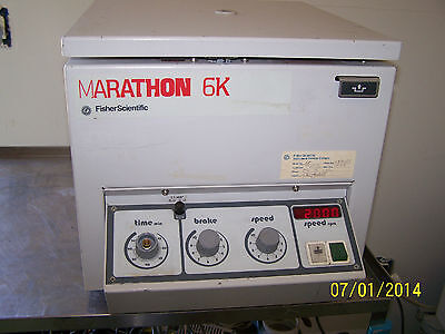 Fisher Scientific Marathon 6K  Centrifuge With Rotor