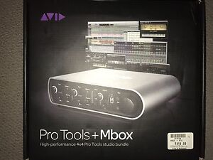 Barley used Pro tools and mbox for sale
