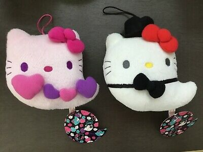 Hello Kitty Halloween Plush (Sanrio Hello Kitty plush Halloween ghost lot of 2)