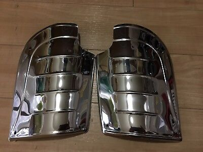 VW BUG Stone Guard Rear Fender 2 pieces Stainless Steel Metal BEETLE 2pcs wing (Fender Stone Guard)