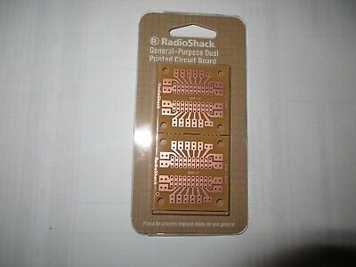 Brand New Radio Shack Pcb Board 20 Pin Ic Breakout Prototyping Board 2 Pack