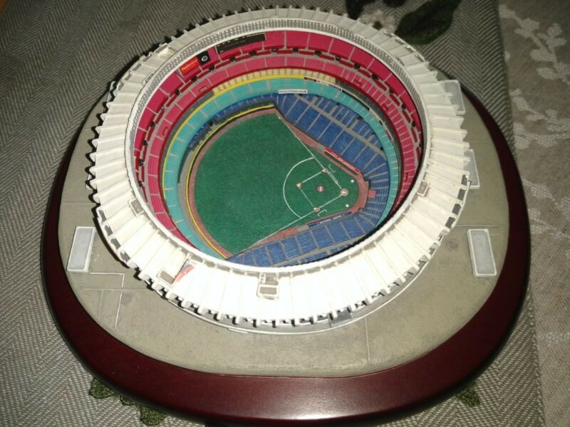 Cinergy Field Danbury Mint Stadium Replica - Great Cookie Cutter Ballpark