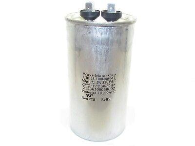 60 Mfd Round Motor Run Capacitor 60 Uf 330 Vac 5060hz Hvac Cbb65-330r606-m1