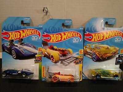 Hot Wheels set of 3 cars! Twin Mill + Street Wiener + Drift Rod best for