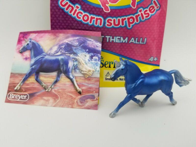BREYER Mini Whinnies Freedom Series Unicorn Surprise #300196 Cosmo [FLW]