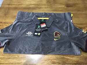 Genuine Broncos Polo shirt size large Oxley Brisbane South West Preview