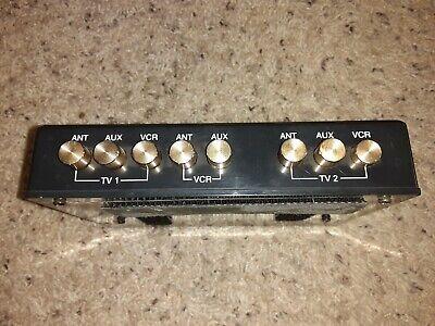 Vintage TV Audio / Video / RF Antenna Selector