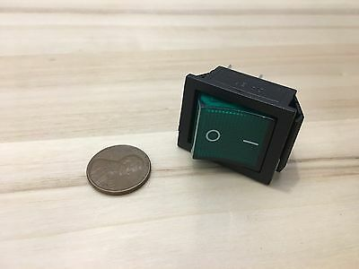1 Piece Green 4 Pin Kcd4 20a Rocker Switch On Off 12v 125v 250v B5