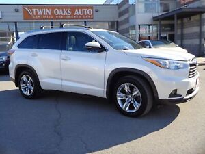 2015 Toyota Highlander Limited|PANO-ROOF|NAVIGATION|BLIS|BACK-CA