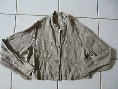 GAP CROPPED JACKET ALL LINEN SIZE S  SPORTY DESIGN for sale  Shipping to India