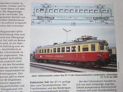 Bahn Lokaufrisse DE & Diesel ET 33 BBÖ Schnelltriebwagen 1936 ET 42