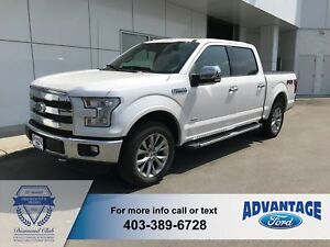 2016 Ford F-150 Lariat Trailer Tow - Leather
