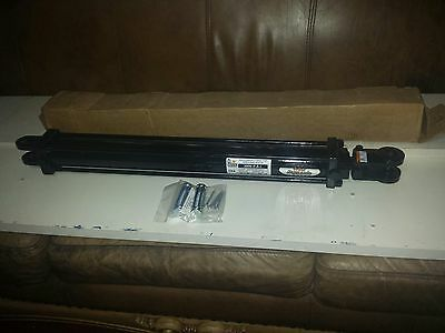 Prince Hydraulic Cylinder 2-12 Bore 24 Stroketie Rod Bender Hydraulic Usa