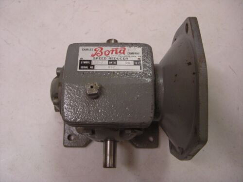 CHARLES BOND COMPANY 133F 20:1 SPEED REDUCER