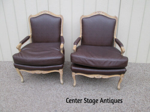 58559 Pair Bergere Armchair Chair s