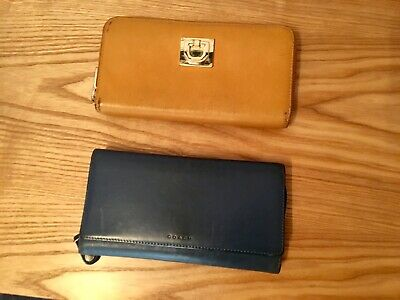 Two Wallets COACH And DKNY