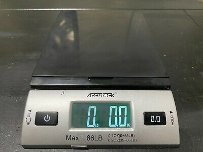 Accuteck Dreamsilver 86lbs Digital Postal Scale Shipping Scale Usbac Adapter