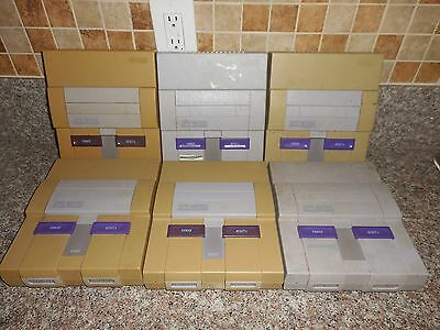 SUPER NINTENDO SNES LOT F 6 CONSOLES - TESTED AND WORK!