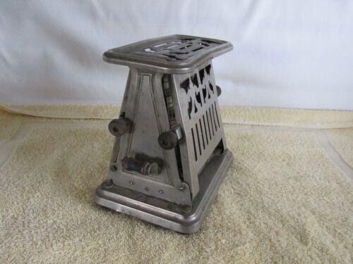 Antique Toaster, Universal, Chrome Finish,  Art Nouveau Style, Ornate