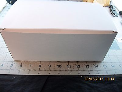 150 10-6-4 White High Gloss Tuck Top Auto Bottom Chipboard Gift Boxs