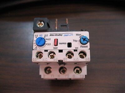 Allen Bradley 193-a1e1 Series A Overload Relay 1.6 To 5.0 Amp