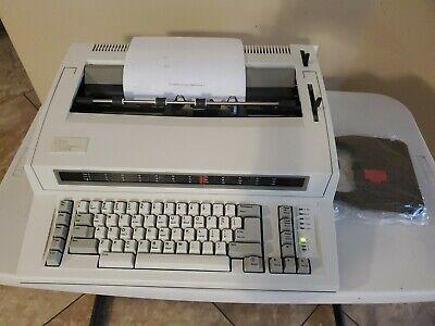 Ibm Personal Wheelwriter 2 Electronic Typewriter - Works Great Mint