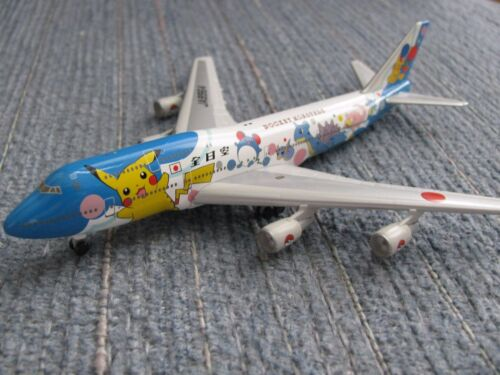 ANA All Nippon Airline POKEMON Boeing 747-400 1:500 Scale Precision Models