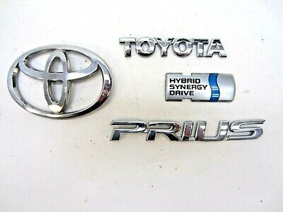 2005 Toyota Prius Rear Emblems - Badges