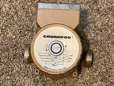 Grundfos Pump Circulator Um25-18su Stainless Steel Open System Solar Hot Water