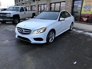 2014 Mercedes Benz ~ E350 ~ 4matic~ 60km~ LOADED~