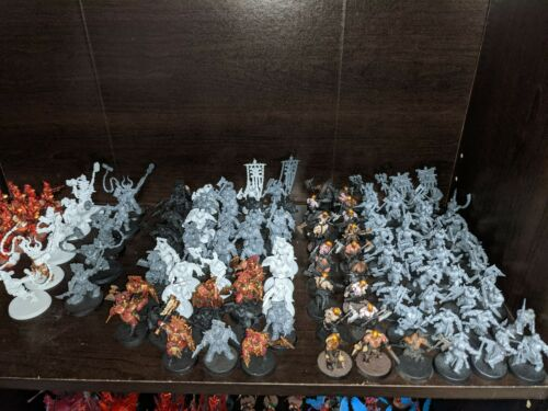 Warhammer Age of Sigmar AoS Blades of Khorne army. Unit sales