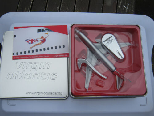 VIRGIN ATLANTIC BOEING 747-400 OLYMPIC GAMES 2012 ISSUE NEVER BEEN TOUCHED MODEL