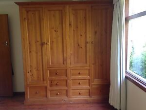 Solid timber wardrobe Elanora Heights Pittwater Area Preview