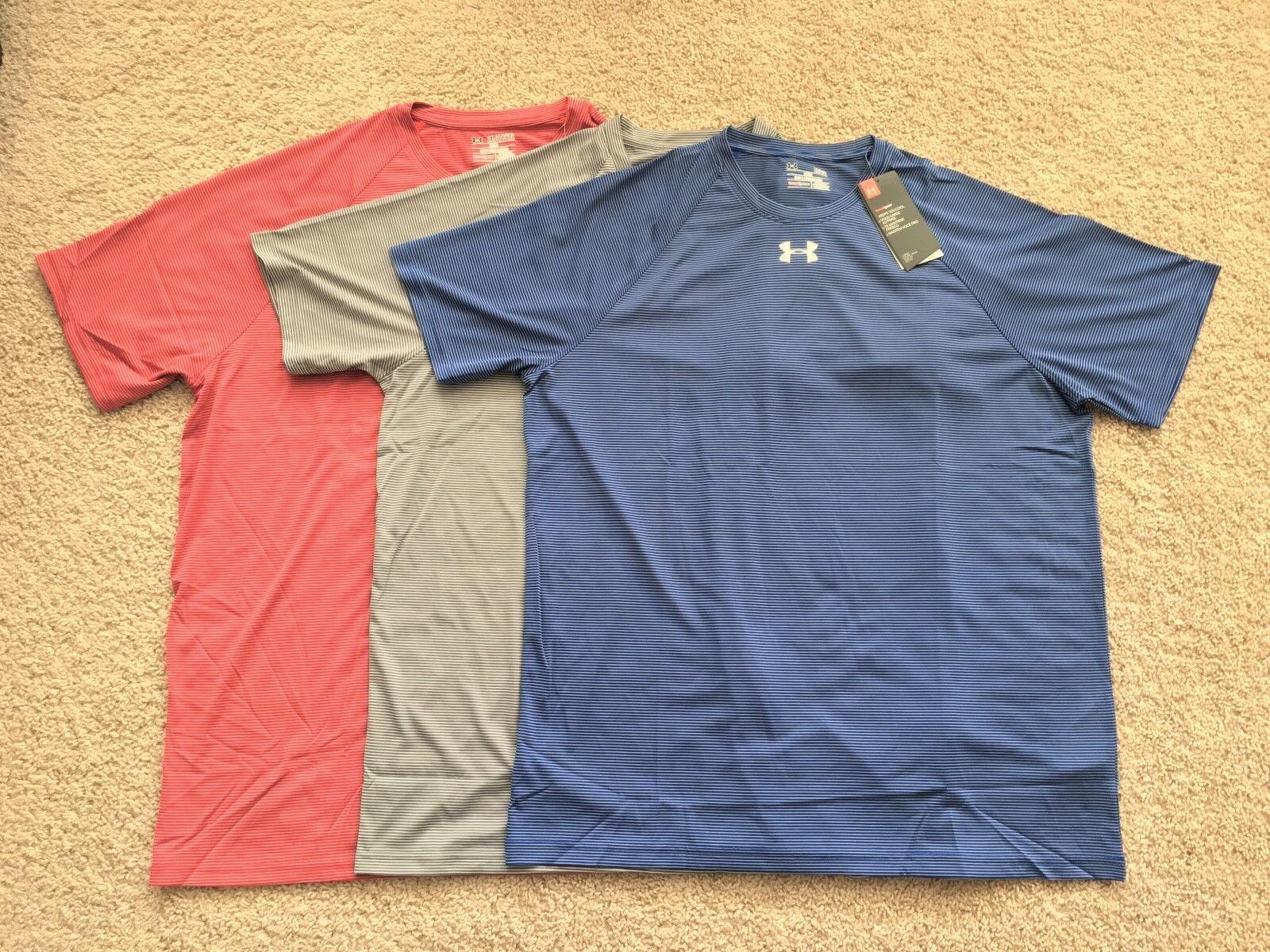 new heat gear tech stripe performance shirt
