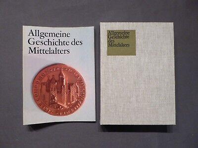 Lehrbuch, Töpfer, Allgemeine Geschichte des Mittelalters, DVW Berlin, DDR 1985