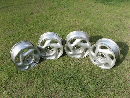 Set of 14 inch x 6 inch alloy wheel rims for sale. Sunnybank Hills Brisbane South West Preview