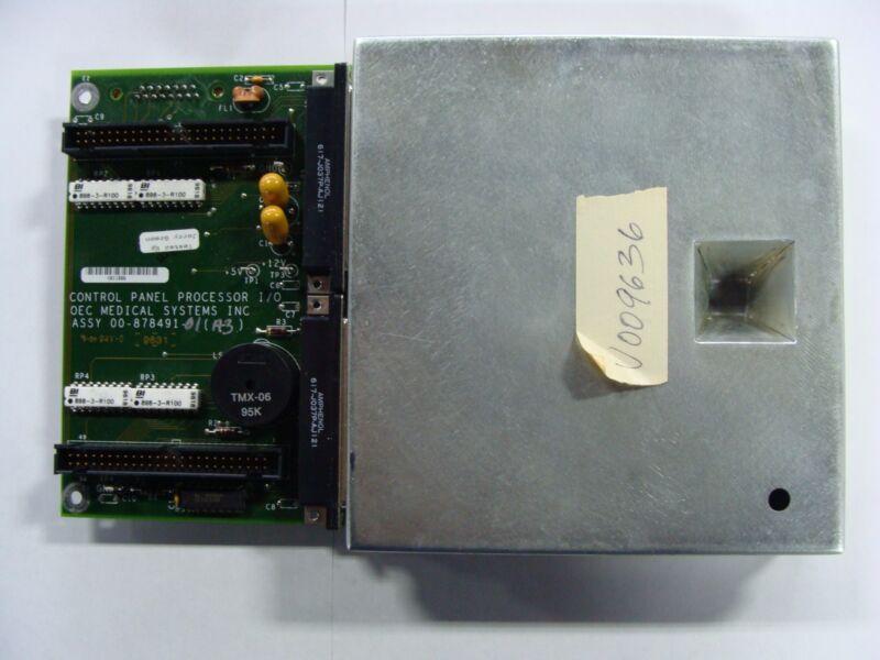 GE OEC 9600 C-ARM ASSY 00-878491-01 & 00-878488-02 CONTROL PANEL PROCESSOR I/0