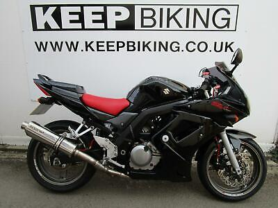2008 Suzuki SV650S F.S.H,ALARM,BEOWULF CAN,BRAIDED LINES,ADJUSTABLE LEVERS