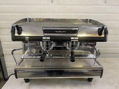 Nuova Simonelli Aurelia Ii Semi Automatic 2 Group Espresso Machine Very Clean