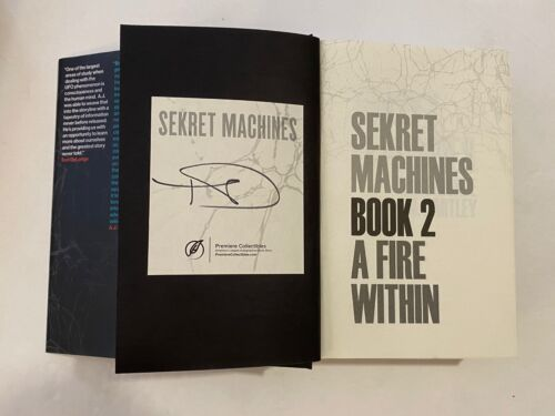 Tom Delonge Signed Autograph Sekret Machines Book 2 A Fire Within Blink 182 COA