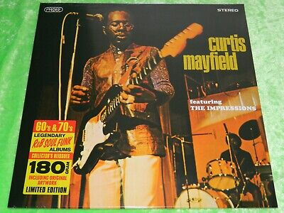 CURTIS MAYFIELD featuring The Impressions - 180g Ltd Edn LP NEW & SEALED