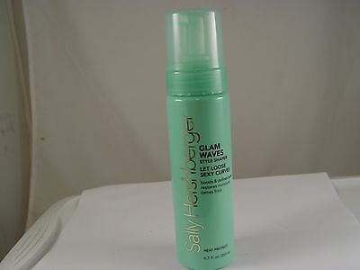 Sally Hershberger Glam Waves Style Shaper for Hair 6.7 oz / 200 ml - NEW