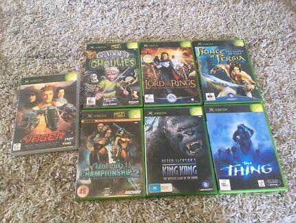 Original Xbox game bundle