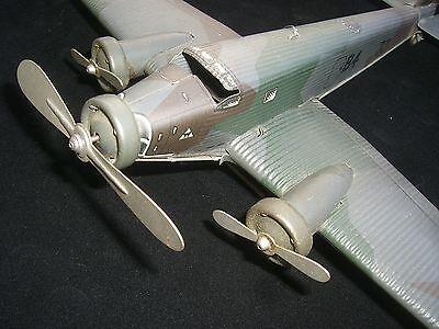 Tco Tippco Ju 52 Junkers Militär Flieger im Original en TRAUMZUSTAND fast MINT